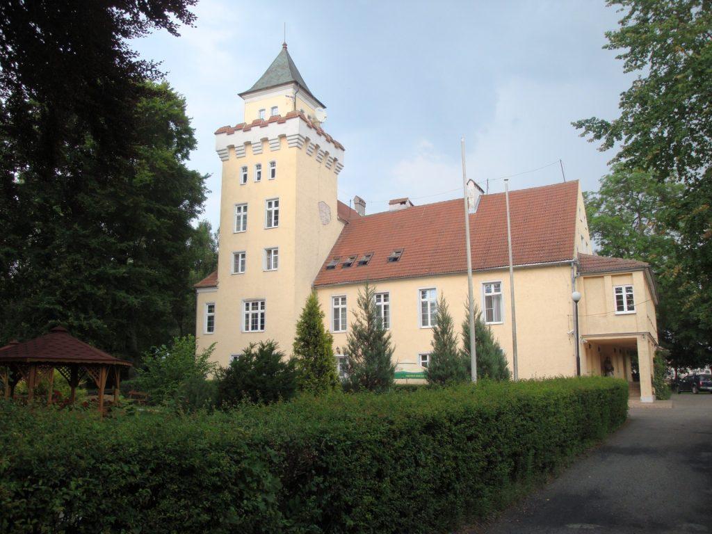 Fot.: Nowęcin, Pałac i stadnina koni, źródło: Wikipedia, autor: Ciacho5