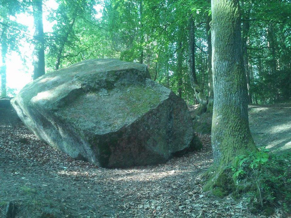 Fot.: Odargowo, Diabelski kamień, żródło:Facebook/Kaszubskie krajobrazy