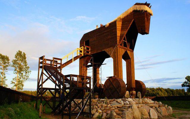 Oskowo, największy na świecie Koń Trojański