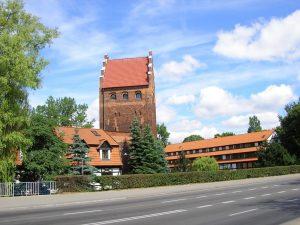 Spichlerz Richtera i Brama Młyńska w Słupsku Źródło: Wikipedia.org Autor: Kamil. z polskojęzycznej Wikipedii