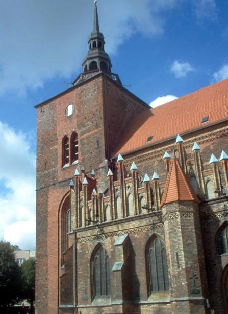 Kościół Mariacki w Słupsku Źródło: Wikipedia.org Autor: Mateusz P.
