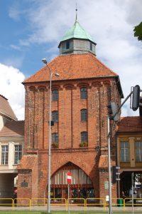 Słupsk. Nowa Brama Źródło: Wikipedia.org Autor: Maria Golinski