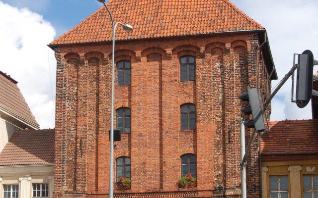 Słupsk. Nowa Brama, część obwarowań miasta
