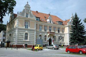 Chojnice, Budynek Starostwa Powiatowego, źródło: facebook.com