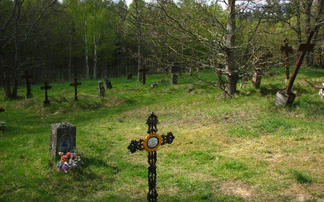 Kluki. Zabytkowy cmentarz słowiński z XVIII wieku
