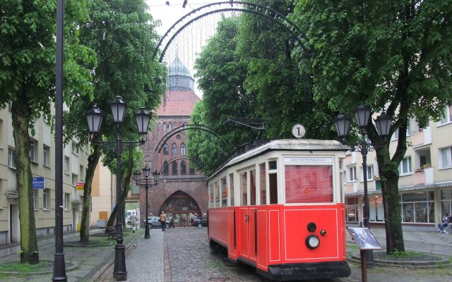 Słupsk. Zabytkowy tramwaj. Tramwajarska historia