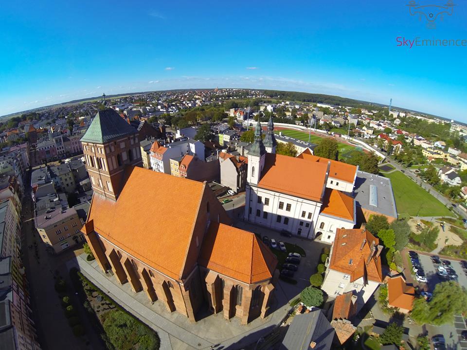 Chojnice, kościół pw Ścięcia św Jana Chrzciciela, źródło: facebook.com