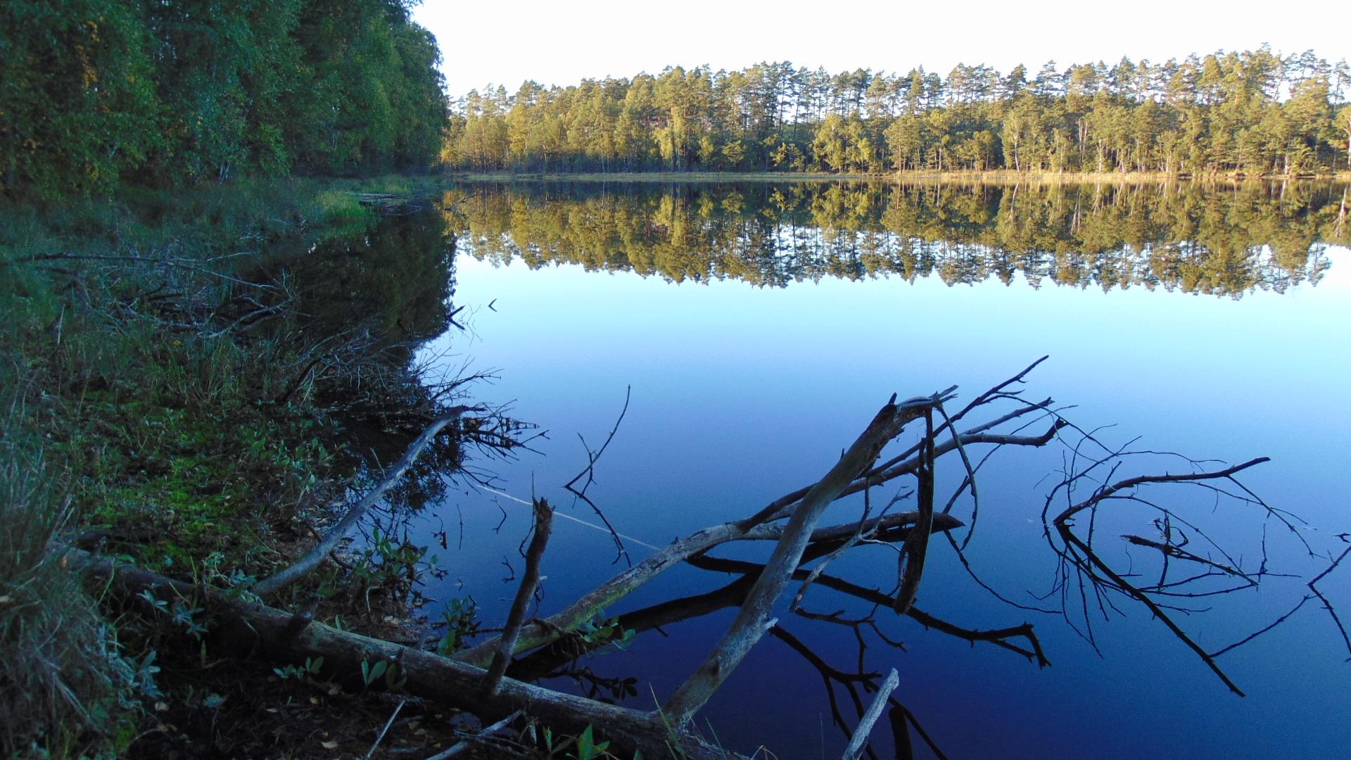 Człuchów i okolice, jezioro Sporackie, źródło: agroturystyka.polnica.pl