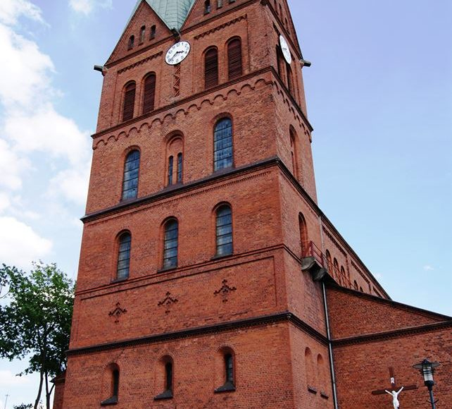 Brusy. Neoromański kościół pod wezwaniem Wszystkich Świętych 1