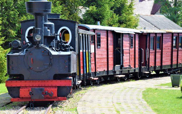 Kościerzyna. Muzeum Kolejnictwa. Para – buch! Koła – w ruch! 3