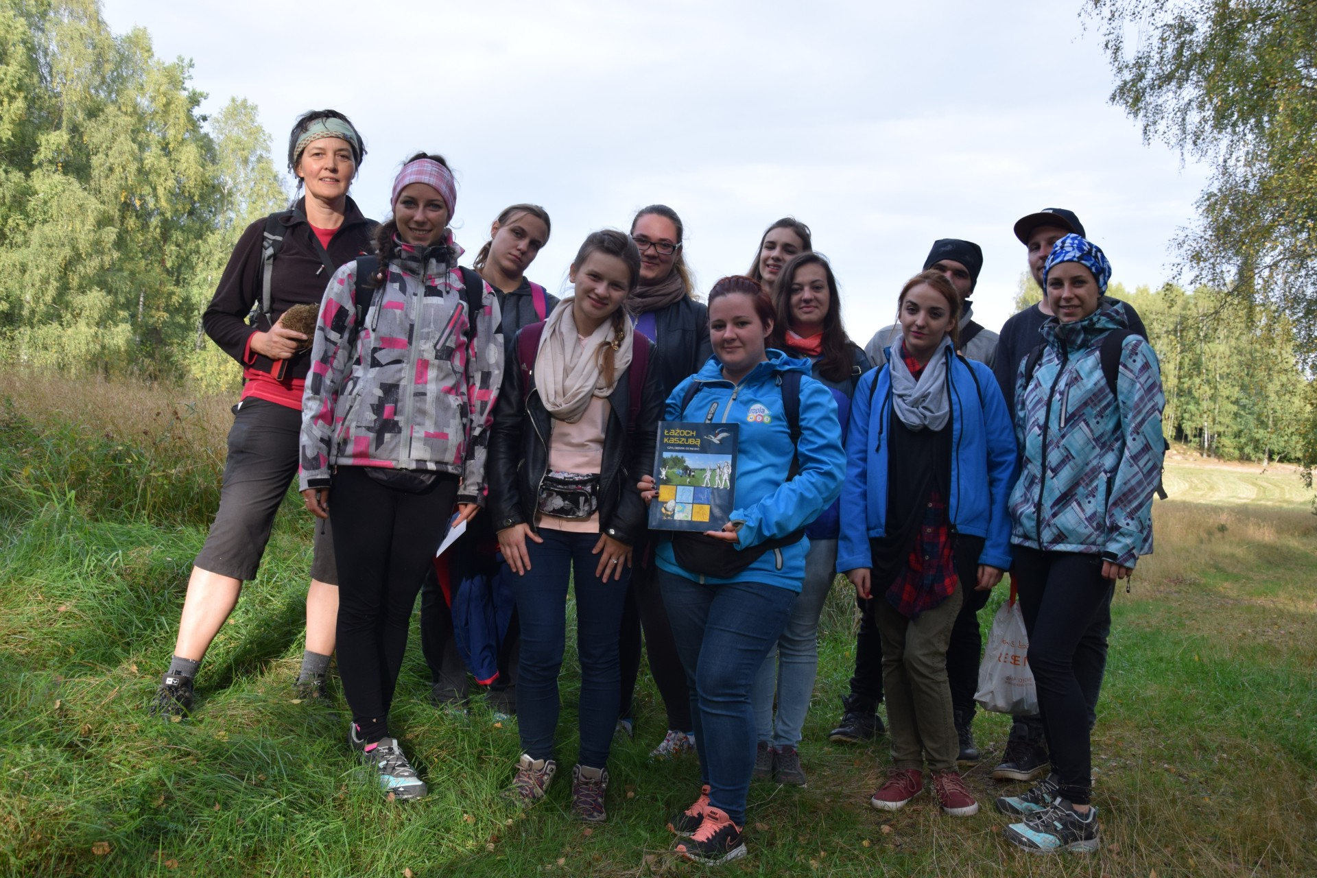 Łażoch Kaszubą - studenci na szlaku śladami bohaterów książki