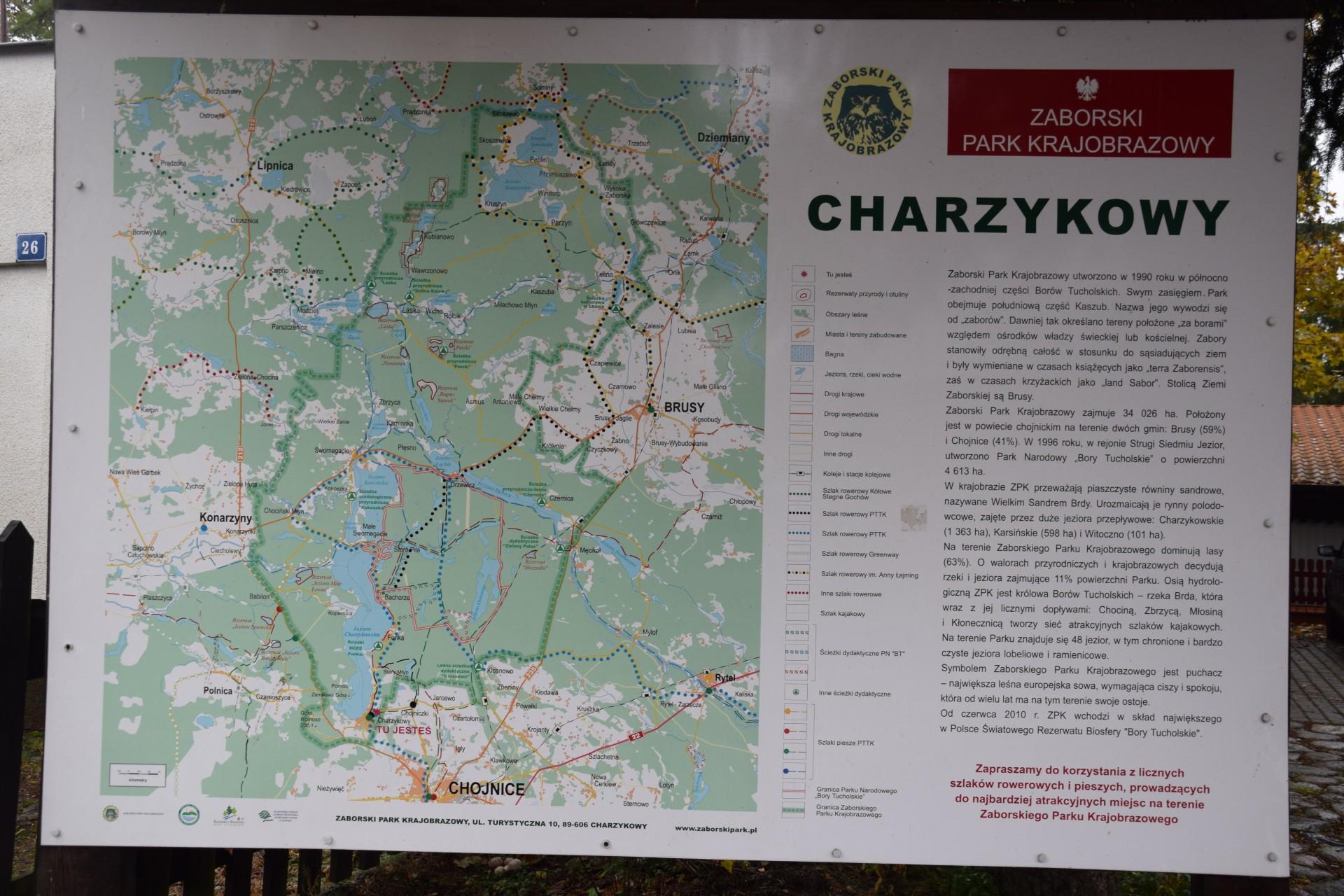 Chojnice i okolice. Rezerwaty i pomniki przyrody w Zaborskim Parku Krajobrazowym 1