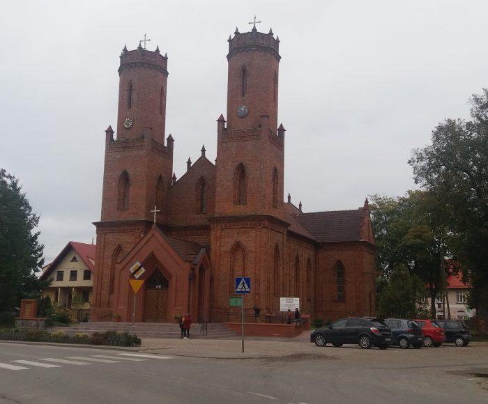 Krokowa, Kościół pw. Św. Katarzyny Aleksandryjskiej