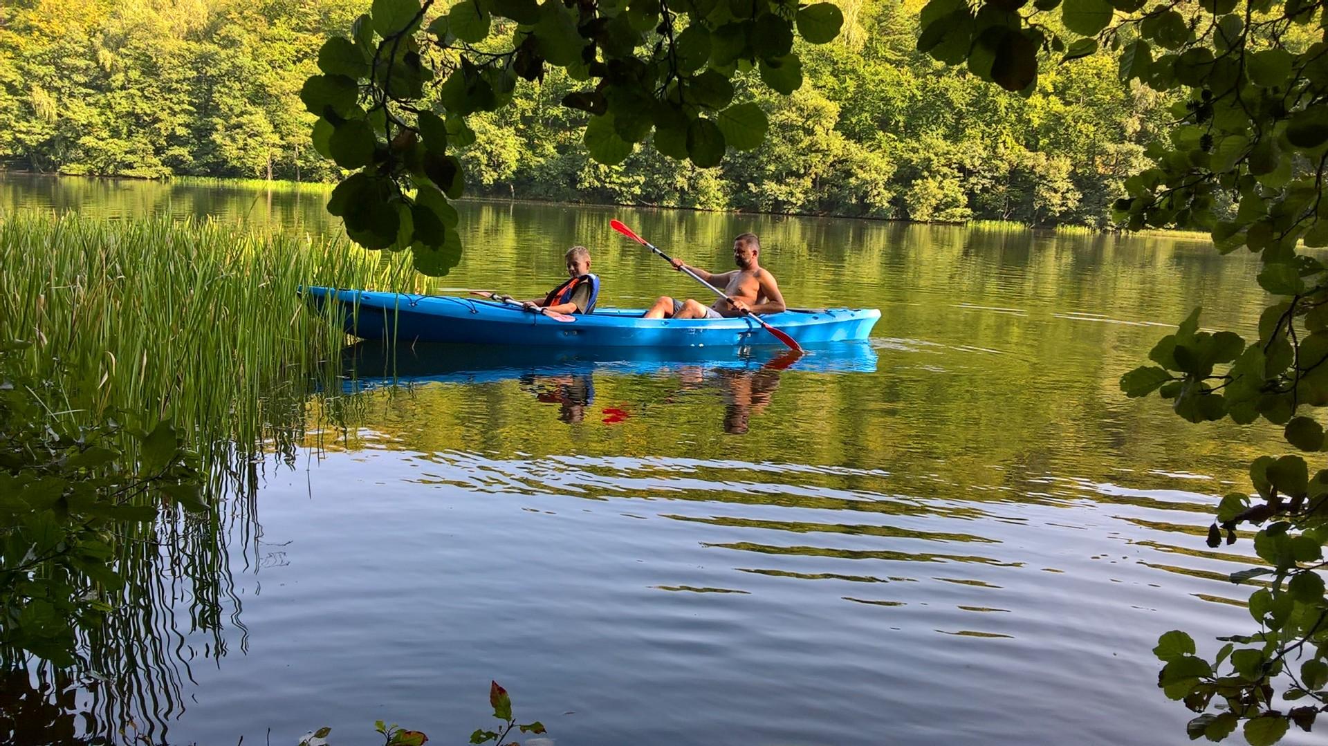 Kajaki, jezioro Przwidzkie
