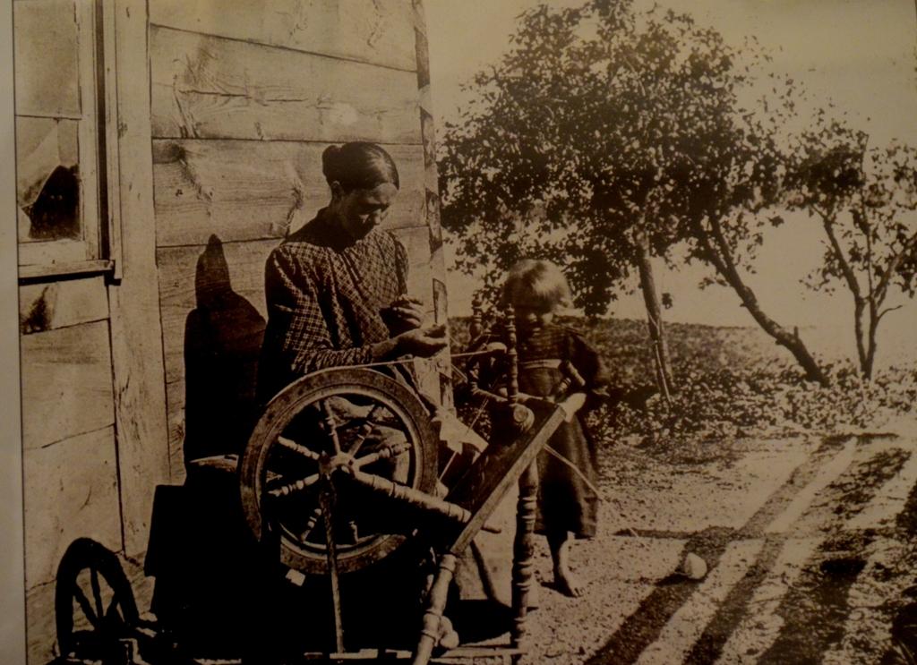 Kaszubka z kołowrotkiem, Wdzydze Kiszewskie