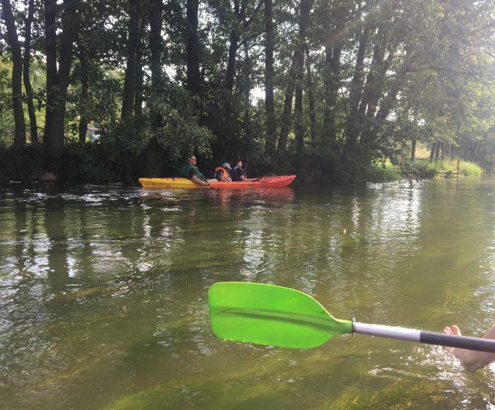Spływ kajakowy Wda, Borsk - Odry