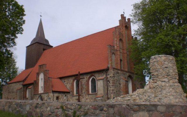 Pręgowo.  Jedna z pierwszych parafii na Pomorzu Gdańskim