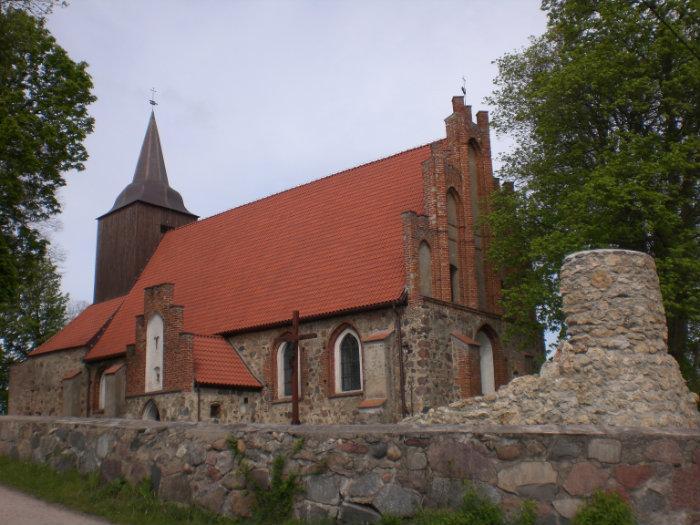 Pręgowo, kościół pw. Bożego Ciała, źródło:wikimapia.org