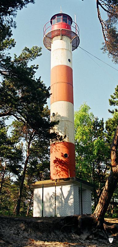 Fot.: Jastarnia, Latarnia Morska, źródło: Wikipedia, autor: Lukas skywalker