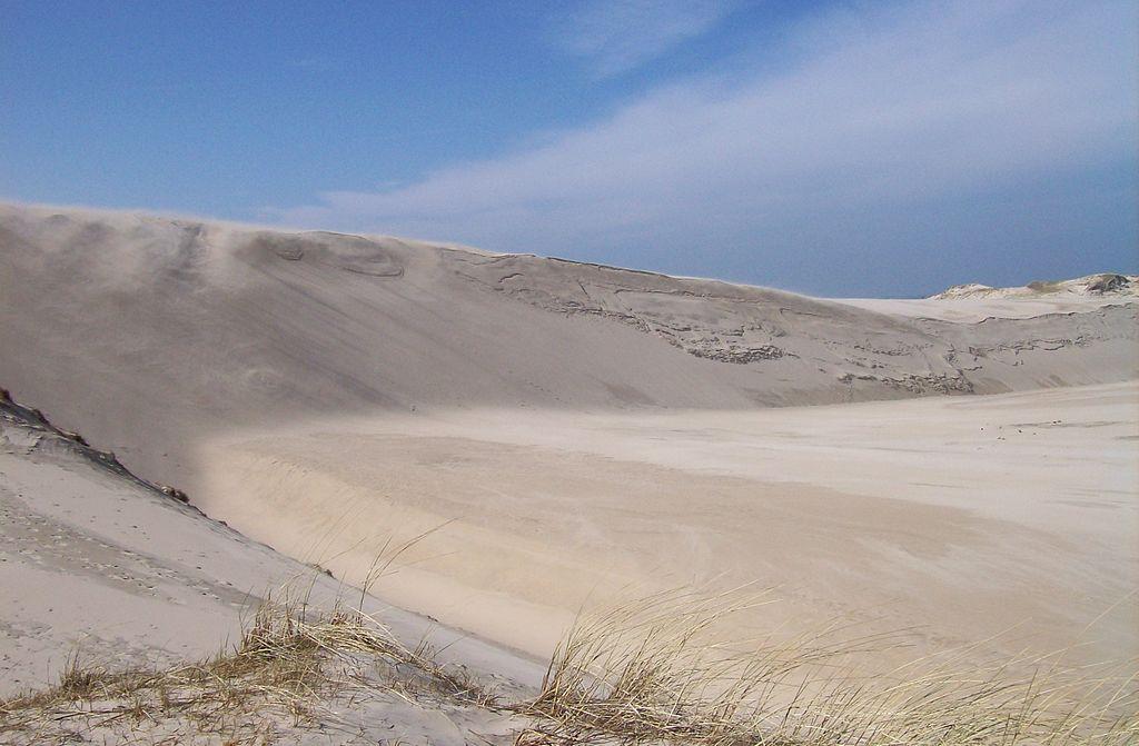 Łeba, wydmy. Polska Sahara