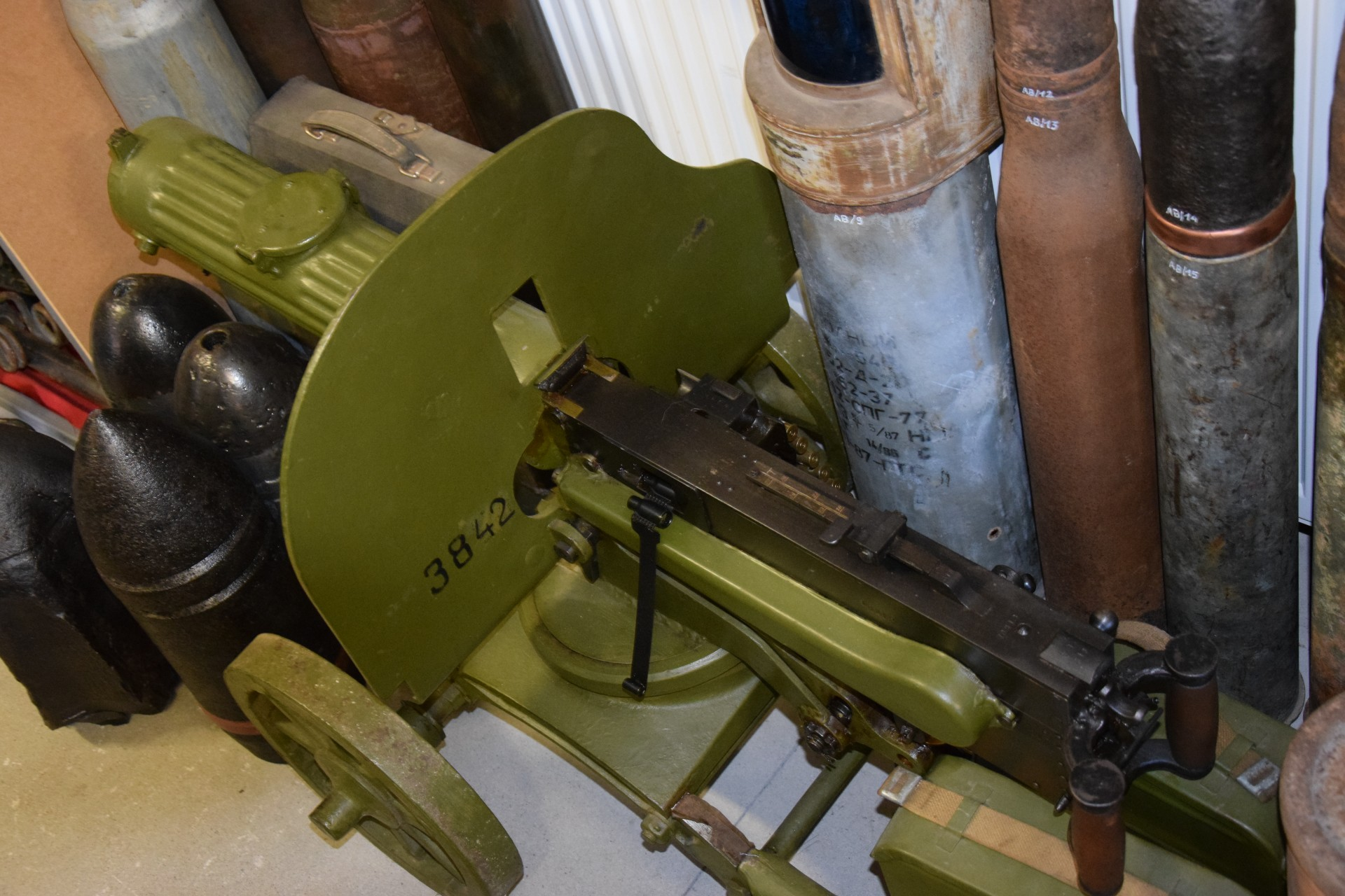 Muzeum Ziemi Kaszubskiej i Sprzętów Militarnych w Goręczynie 1