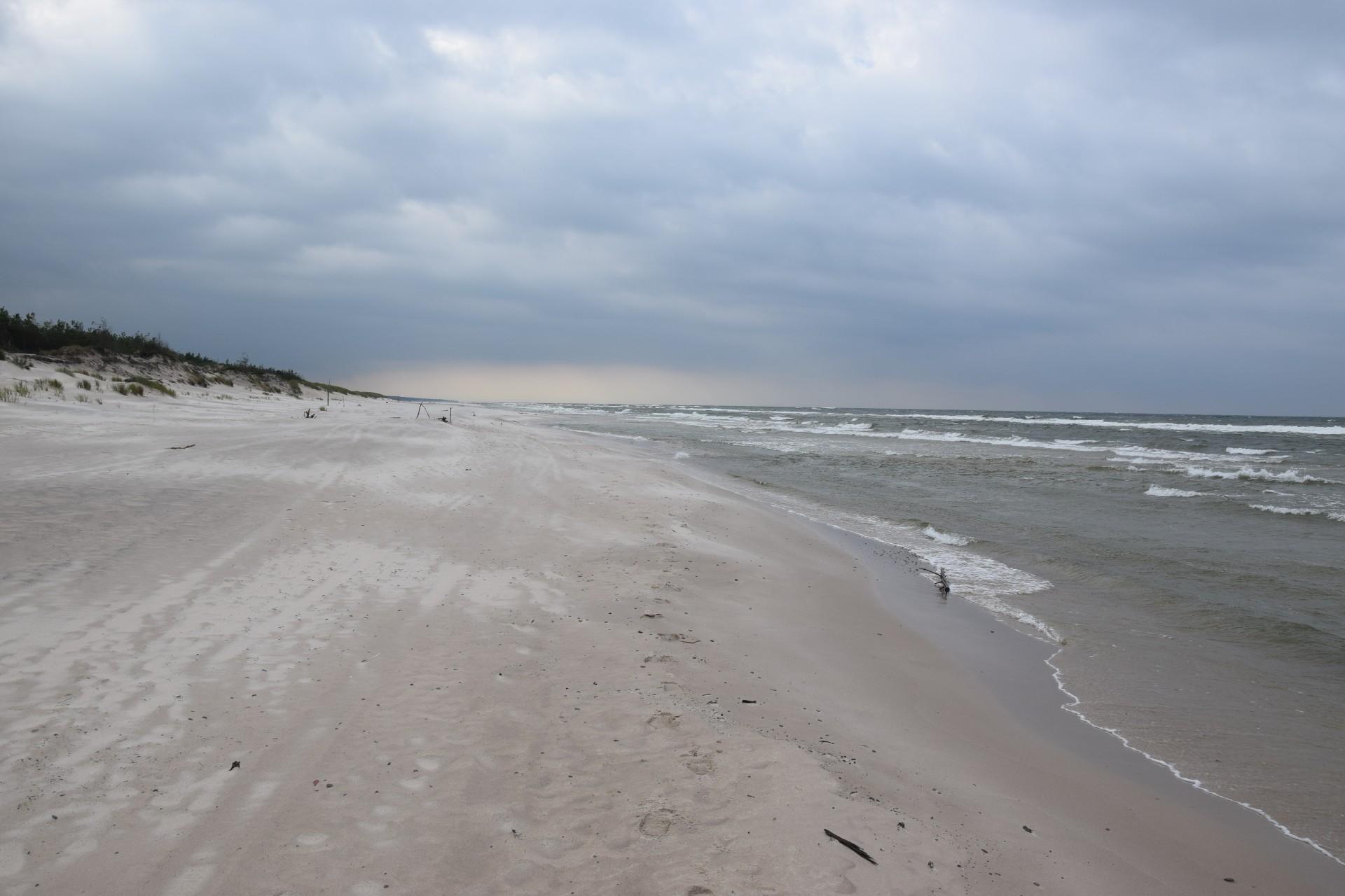 Pomyślunki wiatrem i deszczem smagane. Słowiński Park Narodowy 10