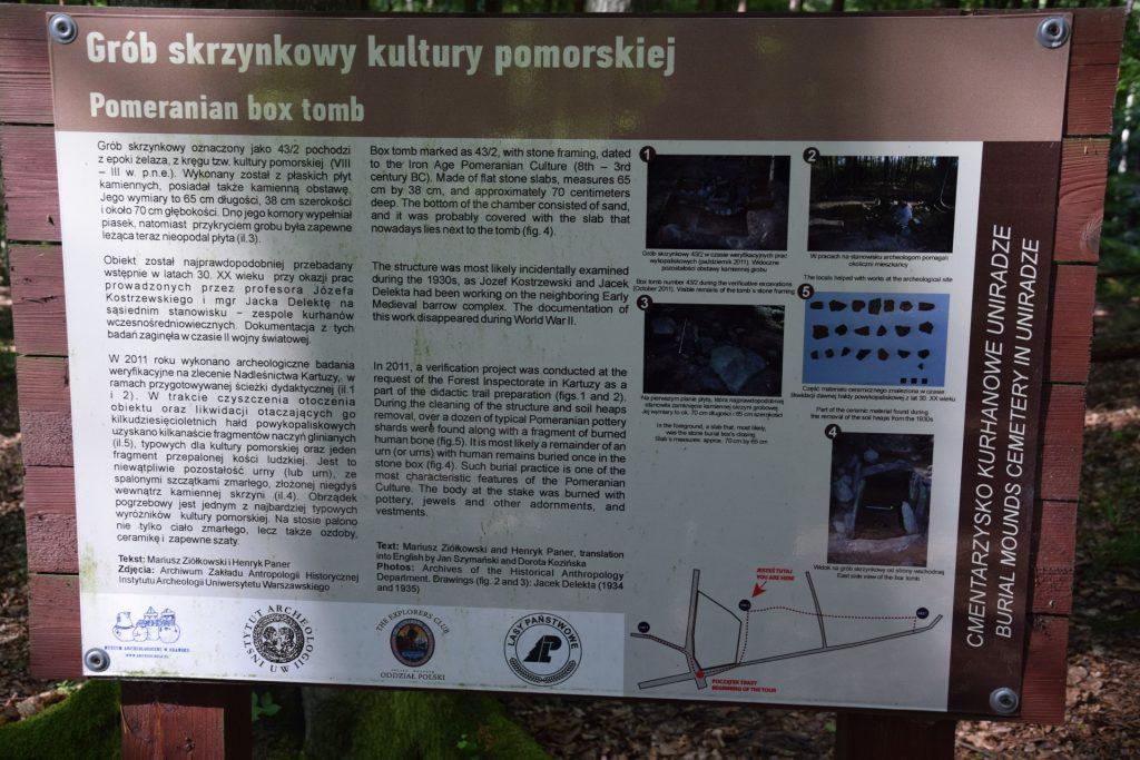 Szymbark - Stężyca. Trasa rowerowa Kaszebsko Stegna