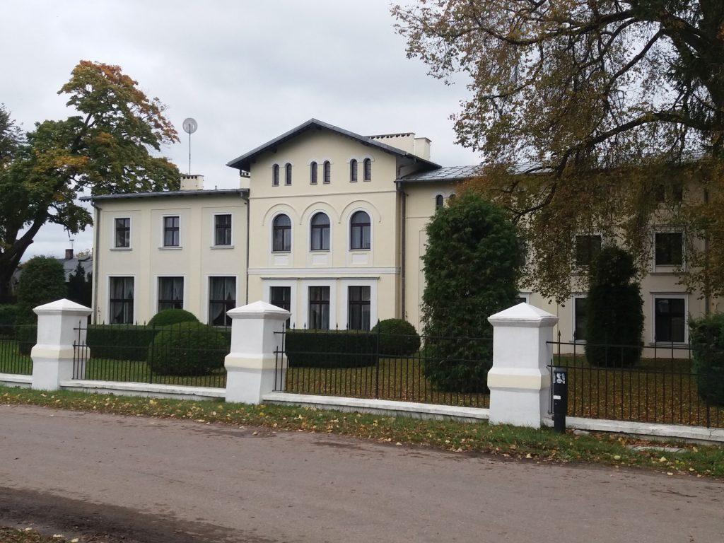 Fot.: Kłanino, Pałac von Grassów, autor: Zuzanna Musik