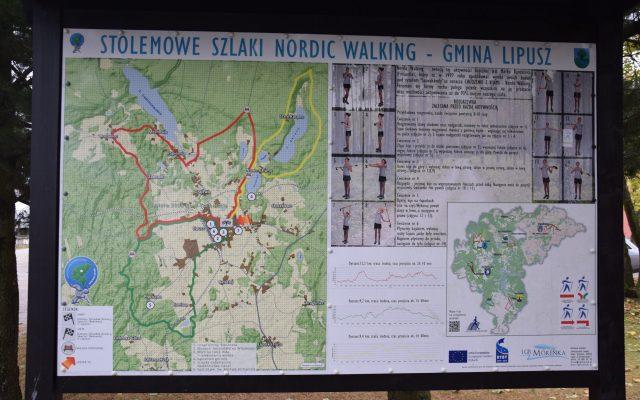 Lipusz. Stolemowe szlaki nordic walking