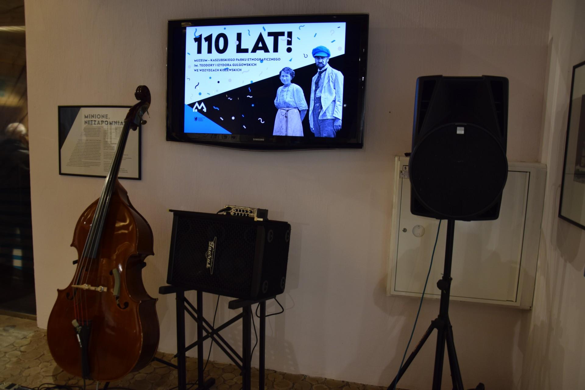 4 grudnia 2016 roku w Skansenie we Wdzydzach obchodzono 110-lecie istnienia muzeum. Odbył sie koncert duetu Szamburski/Walicki. Fot. Tomasz Słomczyński/Magazyn Kaszuby