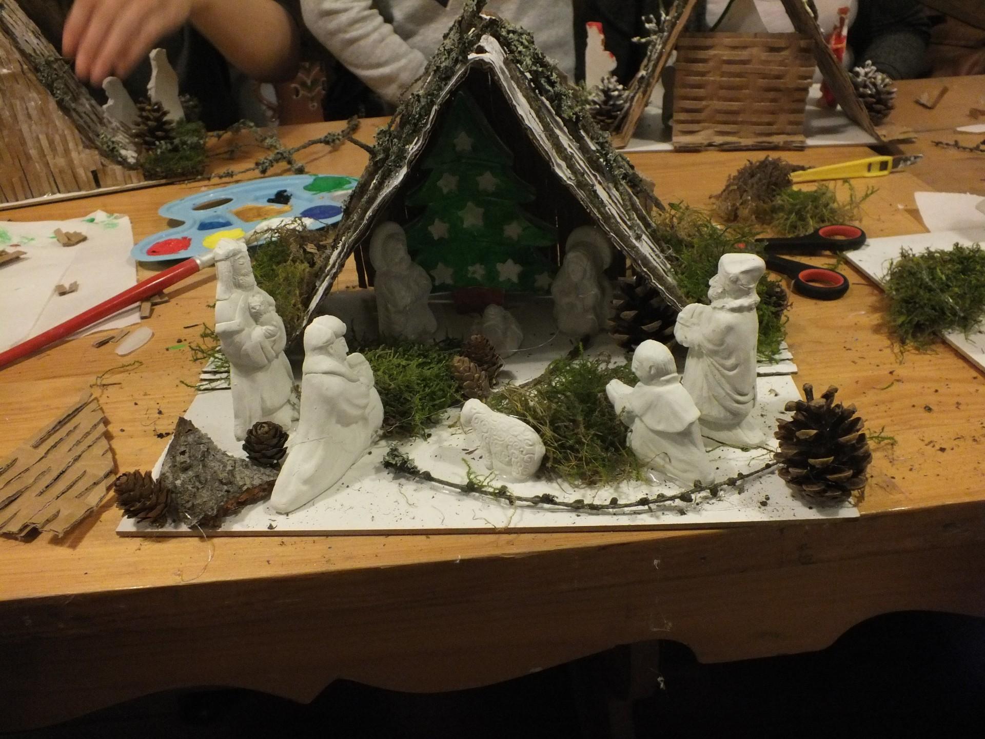 Kaszubska szopka bożonarodzeniowa 3
