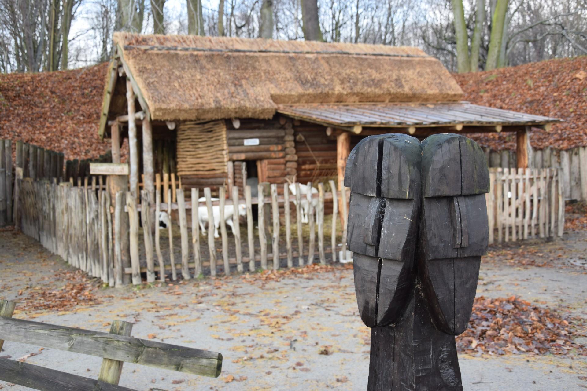 Figura Świętowita w Grodzisku w Sopocie. Fot. Tomasz Słomczyński/Magazyn Kaszuby