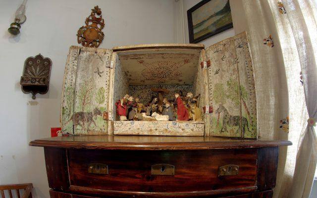 Kaszubska szopka bożonarodzeniowa 1