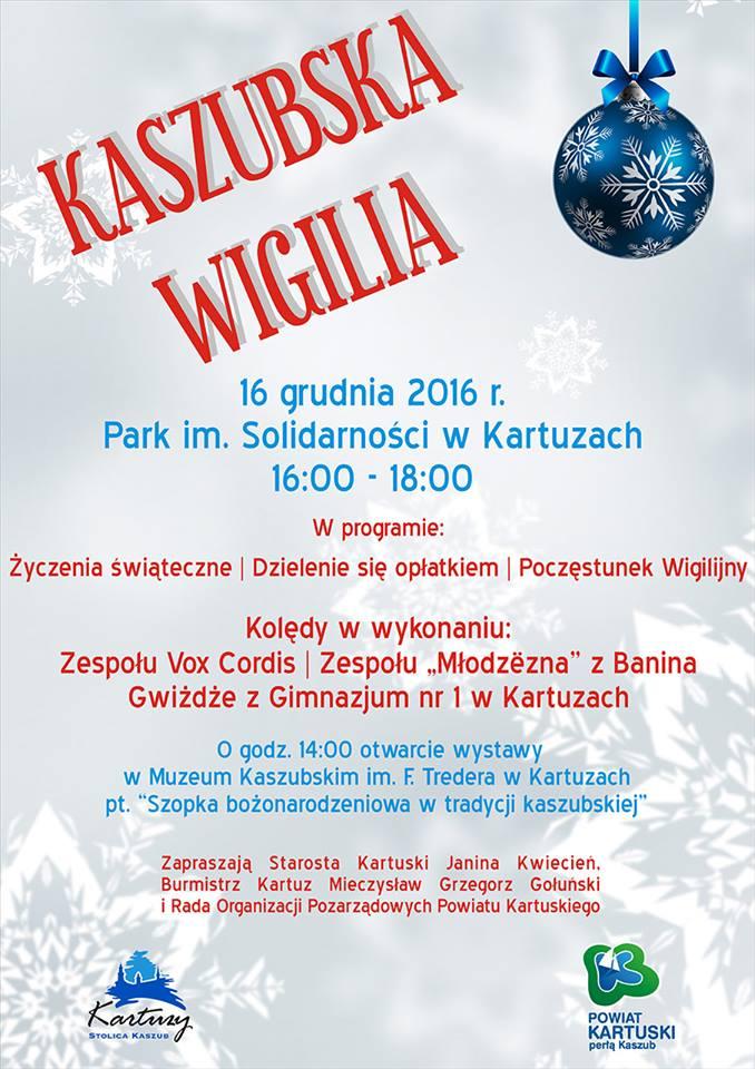 Wigilia Kaszubska w Kartuzach