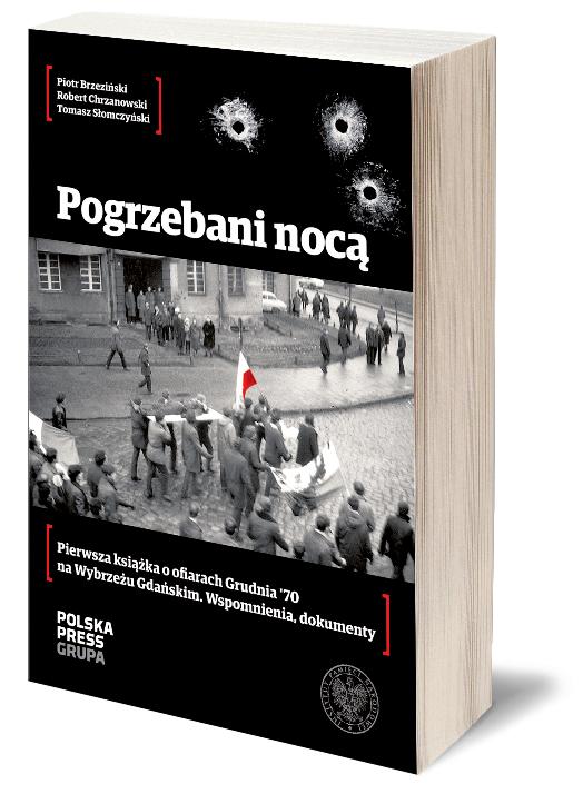 Pogrzebani nocą. Źródło: ksiegarnia.dziennikbaltycki.pl