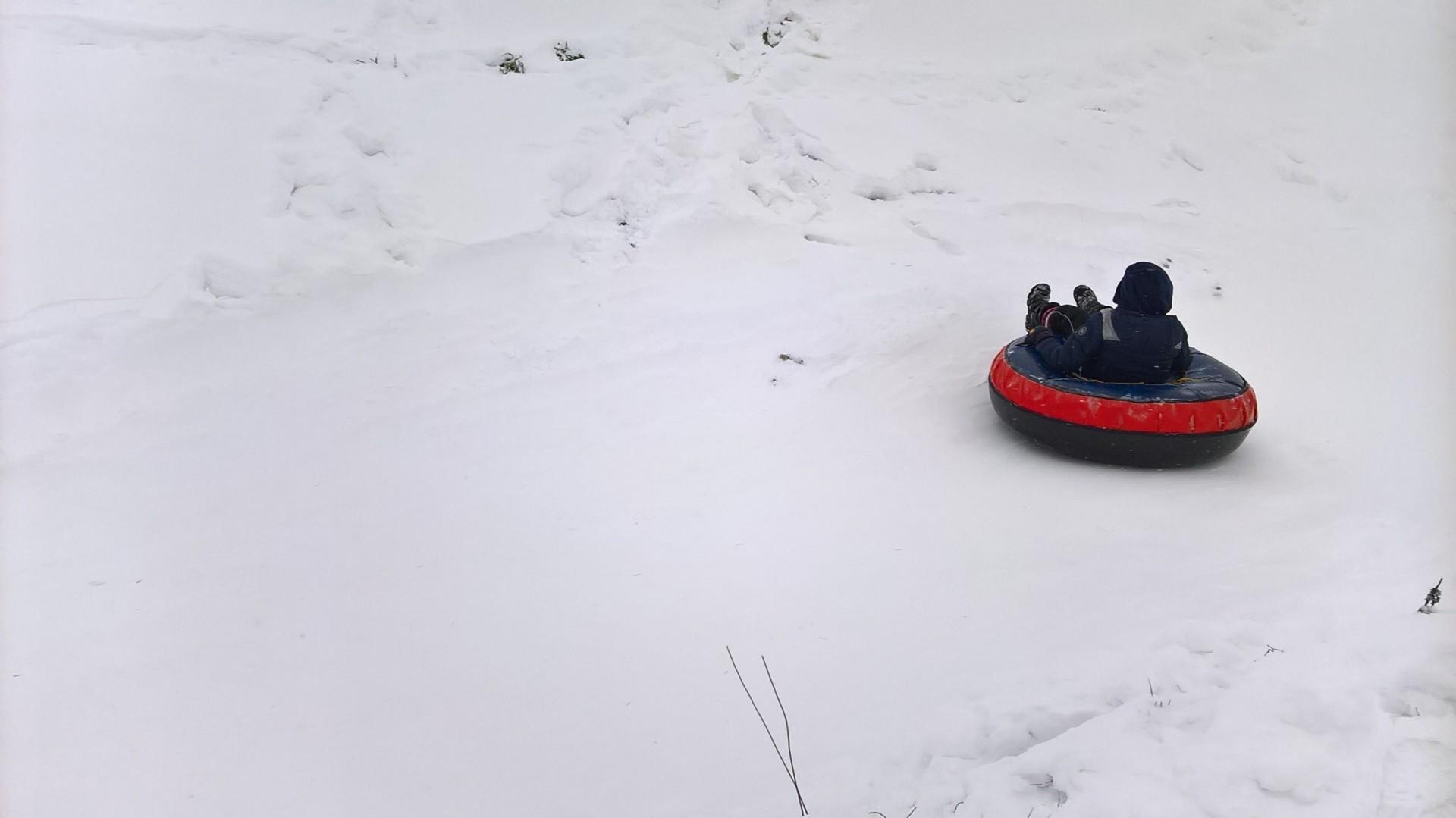 Snowtubing, Trzepowo, 2016. Fot. Tomasz Słomczyński/Magazyn Kaszuby