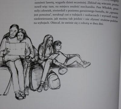 Łażoch Kaszubą, s. 10 - 11, rys. Jolanta Gisman-Stoch
