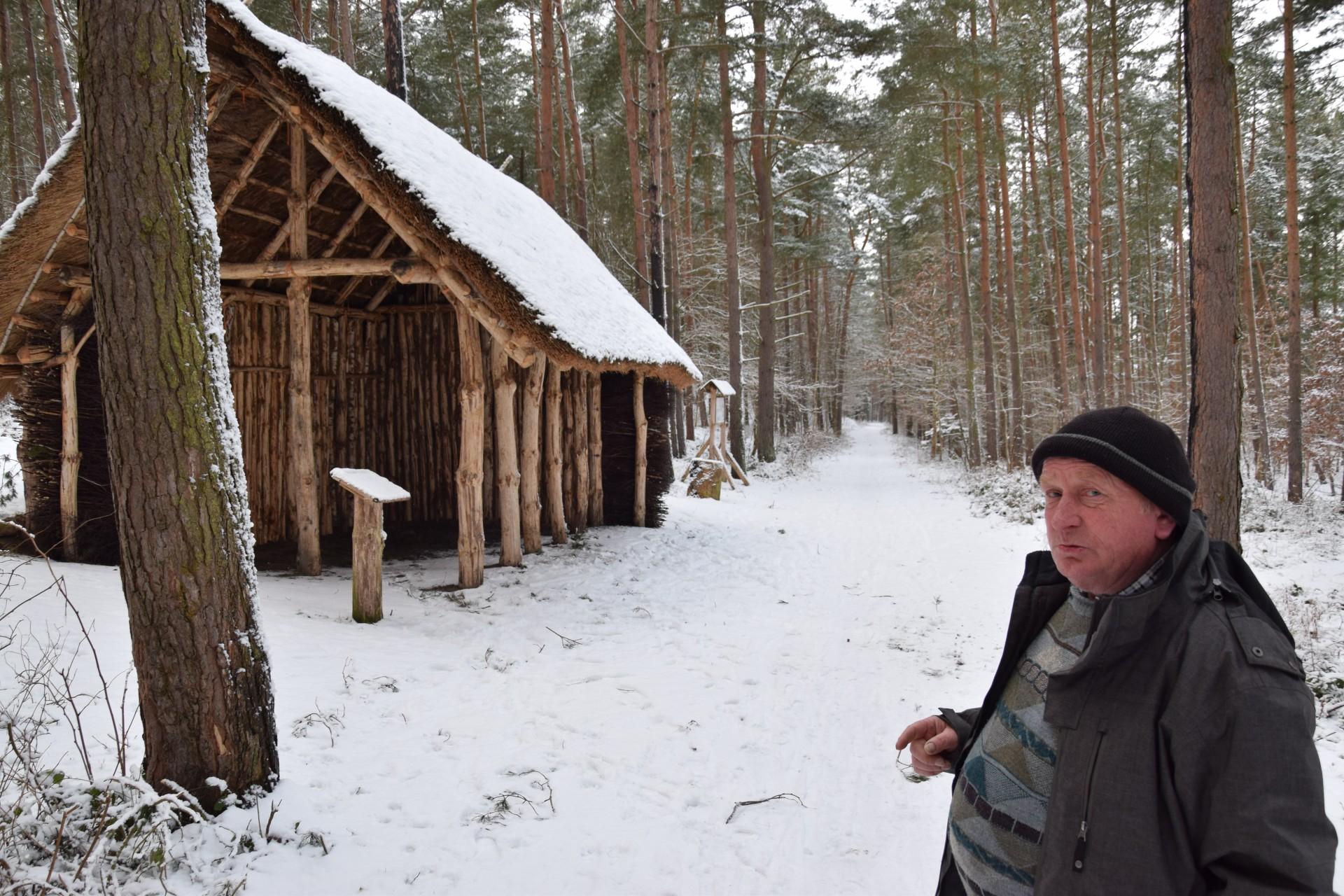 Krzysztof Garstkowiak. Osada Łowców Fok w Rzucewie. Fot. Tomasz Słomczyński/Magazyn Kaszuby