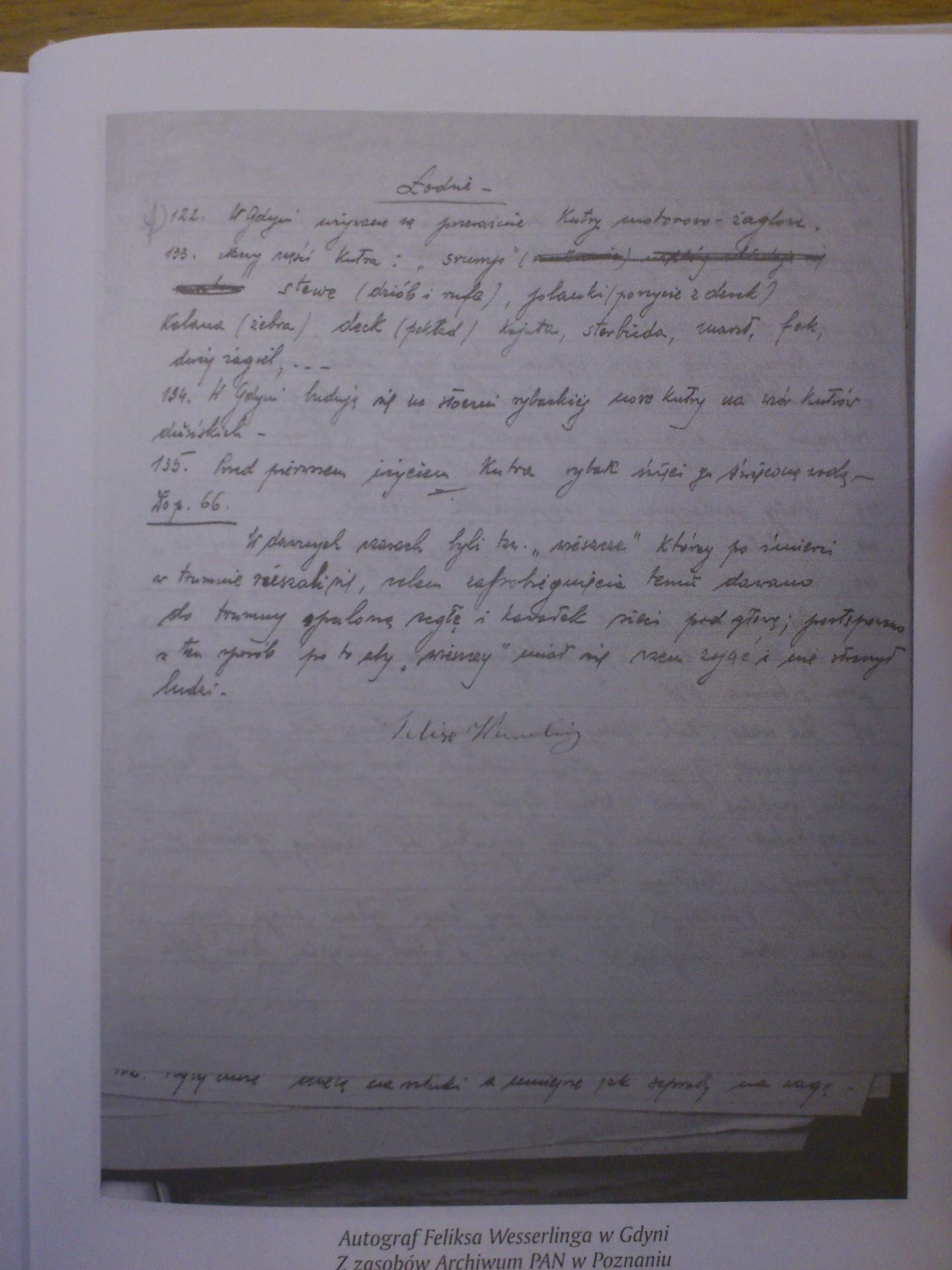 Kwestionariusz wypełniony przez dziadka Feliksa. Fot. Archiwum prywatne