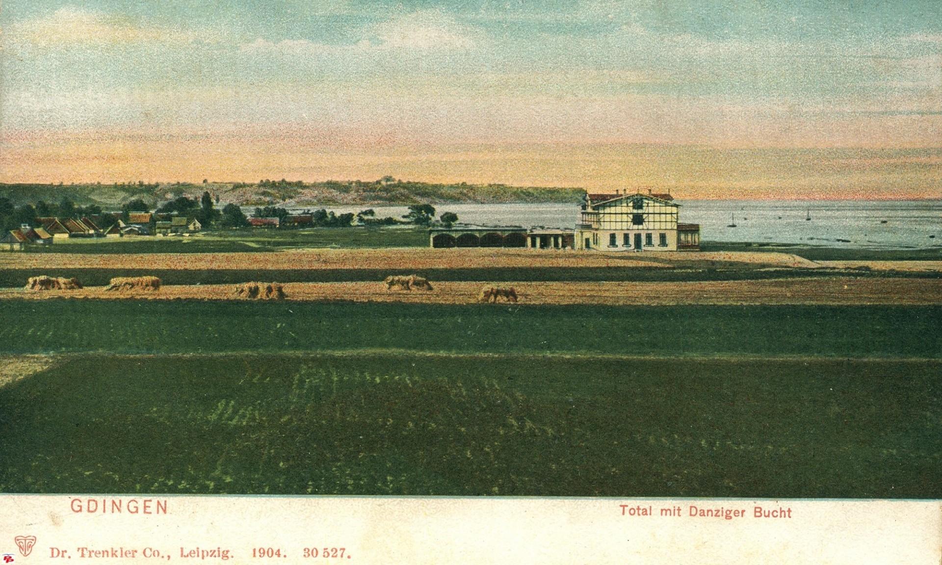 Gdynia, 1904. Fot. Fotopolska.eu