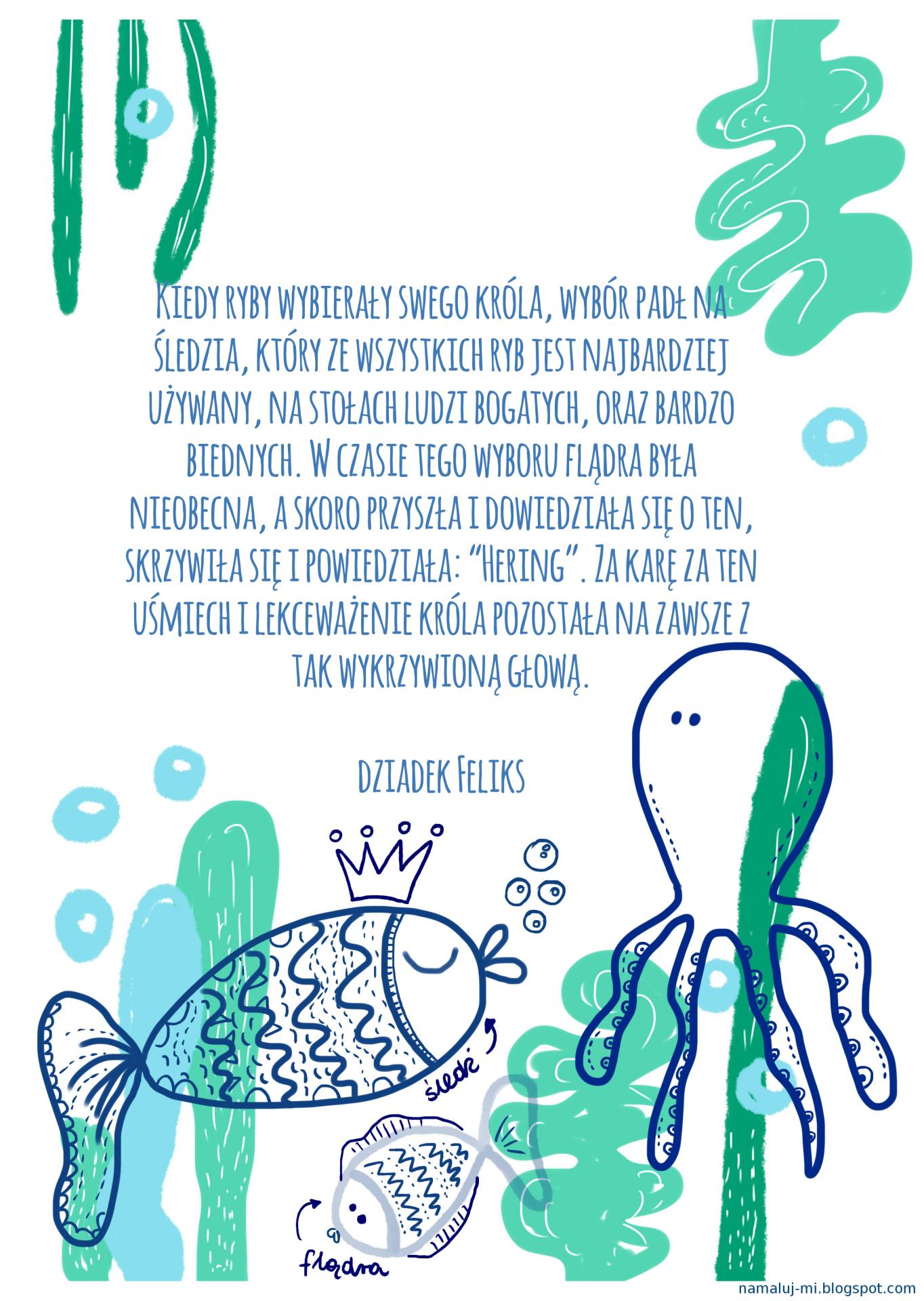 Ilustracja autorstwa Karoliny Kułaga. Źródło: archiwum prywatne.