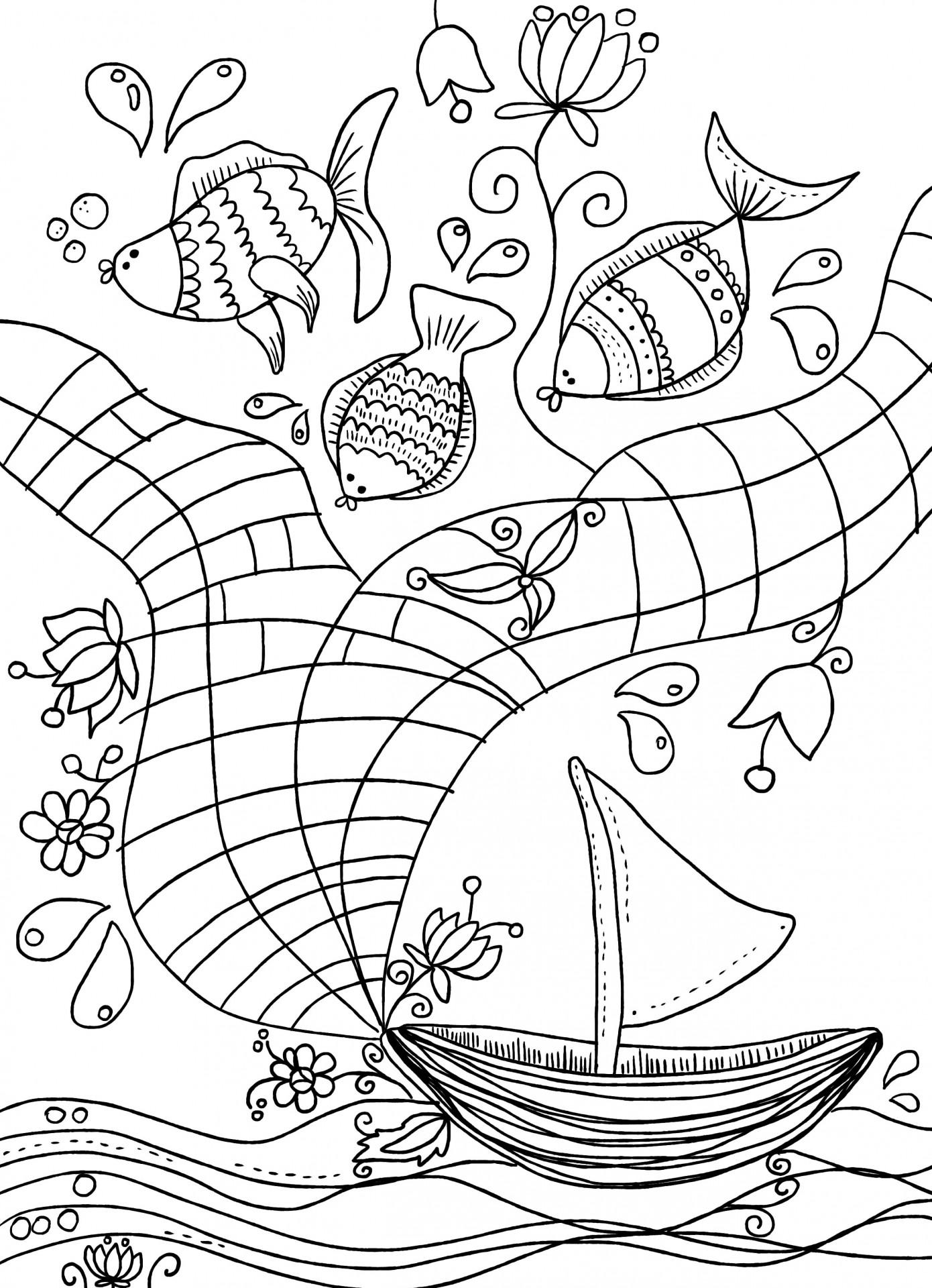 Kolorowanka autorstwa Karoliny Kułaga. Źródło: archiwum prywatne.