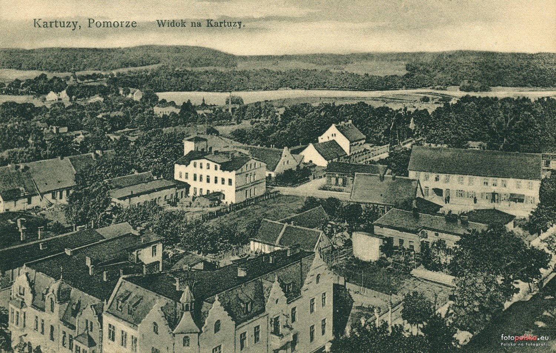 Kartuzy, 1926 rok. Źródło: Fotopolska.eu