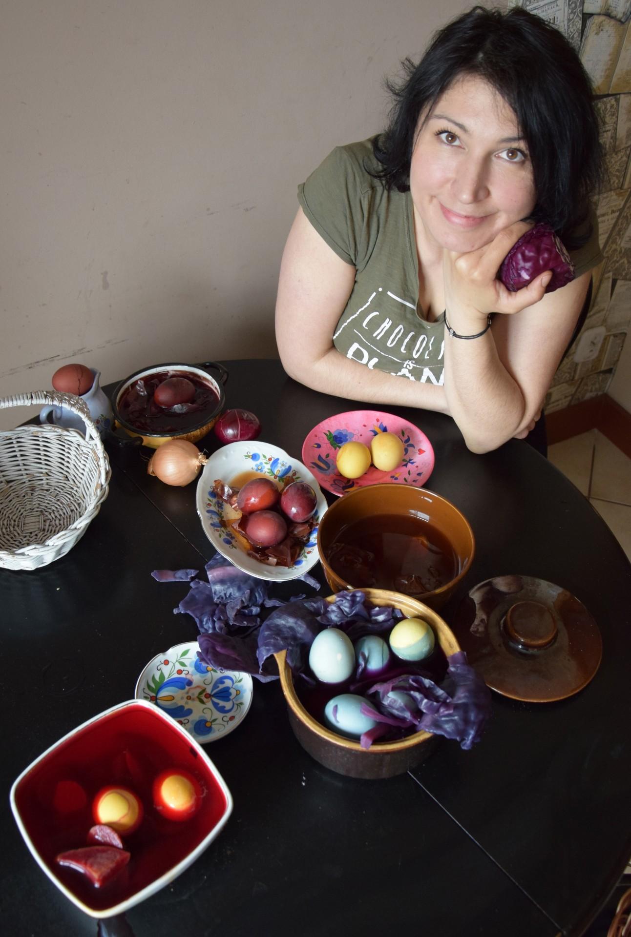 Kraszanaki to kraszone (farbowane, upiększone jaja). Na Kaszubach nie tworzy sie piusanek, tylko kraszanaki. Fot. Tomasz Słomczyński/Magazyn Kaszuby