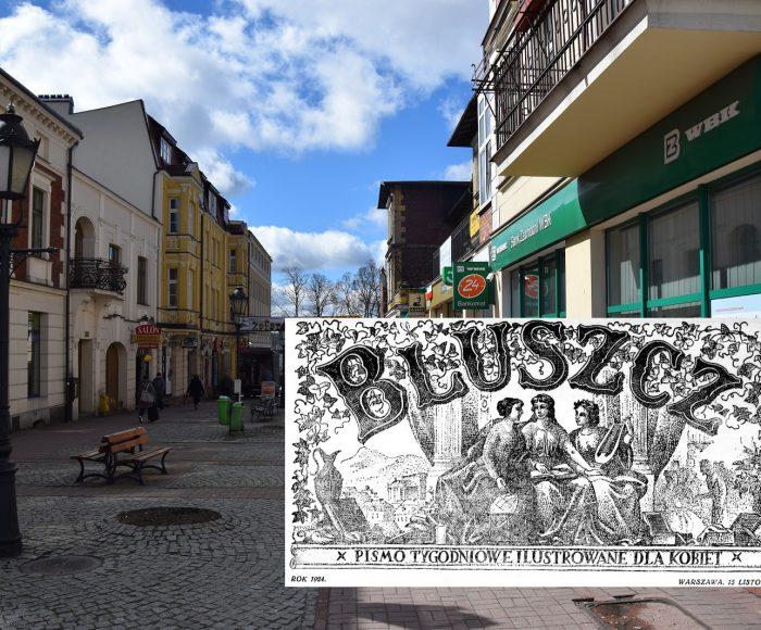 W poszukiwaniu nagrzanej ulicy. Maria Dąbrowska w Kartuzach. Fot. Tomasz Słomczyński/Magazyn Kaszuby
