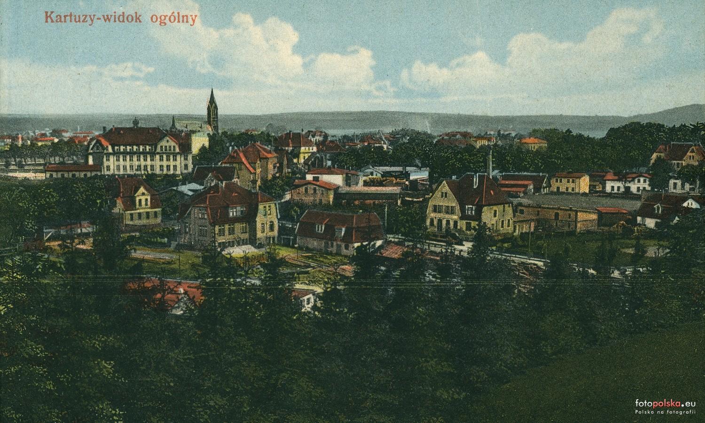 Kartuzy, widok ze wzgórza Hawkego. Źródło: Fotopolska.ue