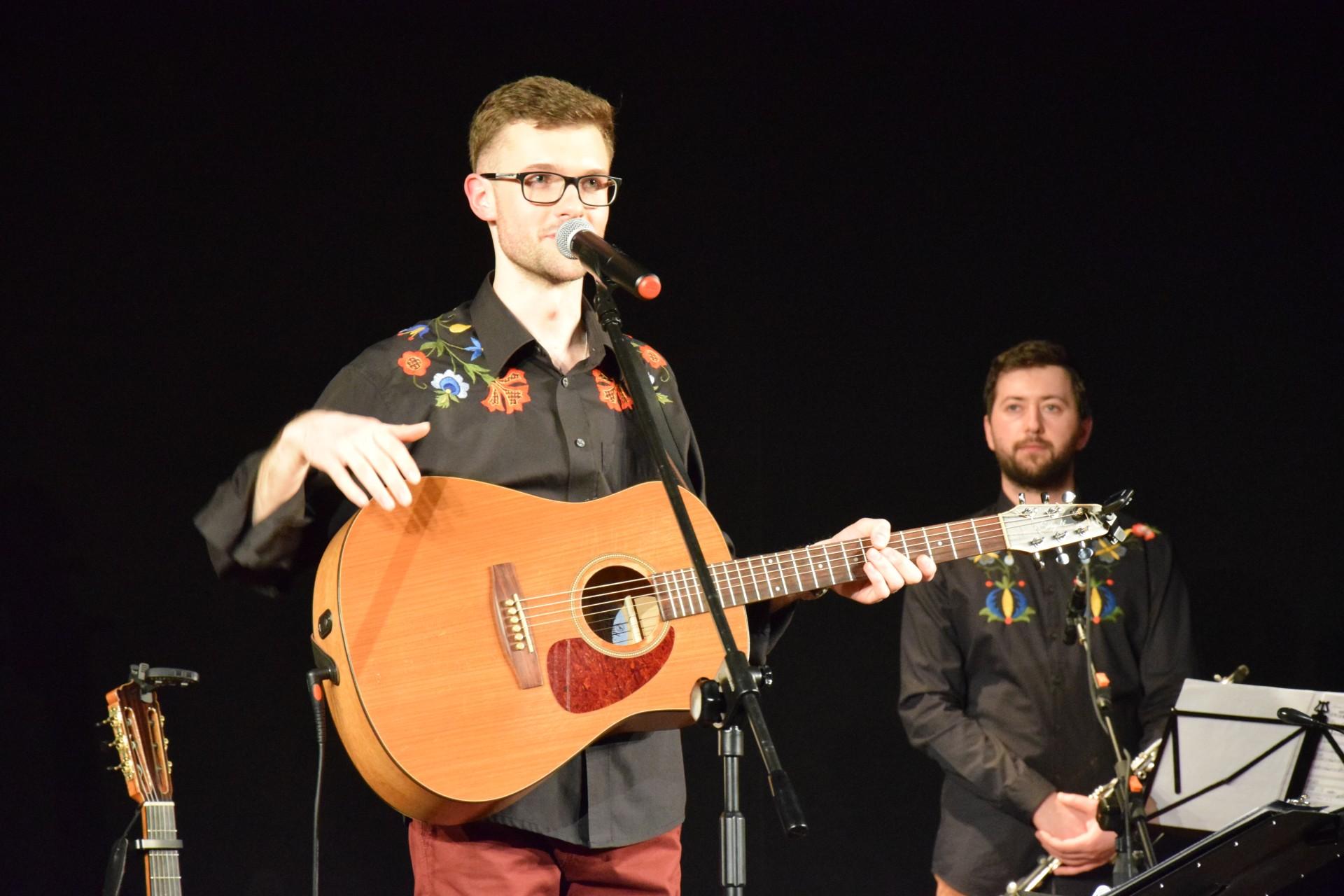 Koncert Pawła Ruszkowskiego z zespołem, 27 kwietnia 2017, Kościerzyna. Fot. Tomasz Słomczyński/Magazyn Kaszuby