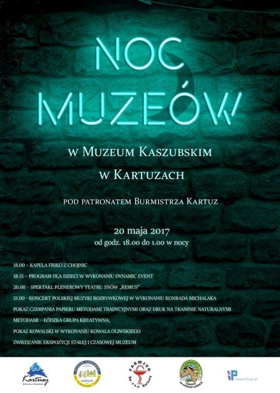 Noc w Muzeum Kaszubskim w Kartuzach