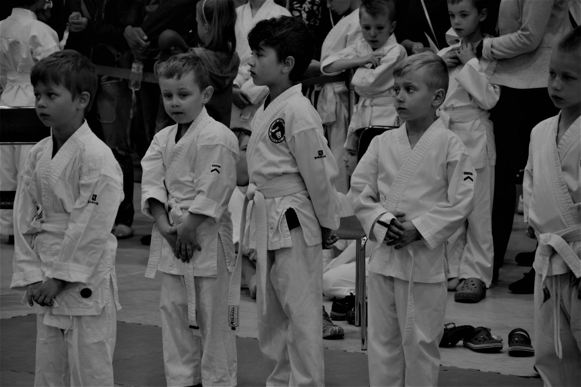 Karate - fotoreportaż. Żukowo, niedzielne przedpołudnie 1