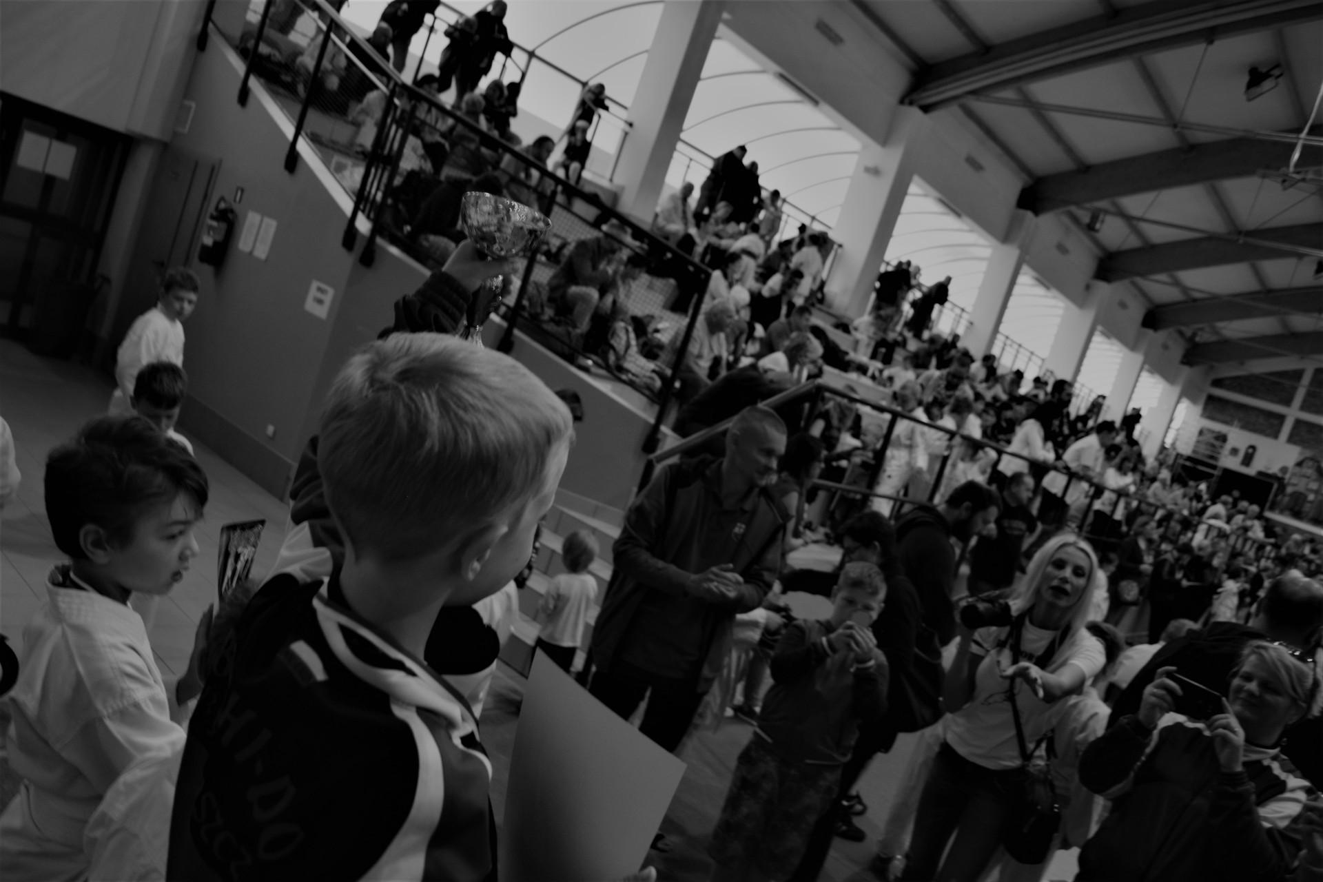 Karate w Żukowie. Zawody organizowane przez Klub Sportowy Gokken, 4 czerwca 2017. Fot. Tomasz Słomczyński/Magazyn Kaszuby